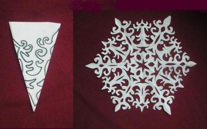 Как сделать подсолнухи иСделать снежинки 3д иОбъемная
